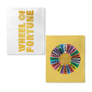 Wheel of Fortune Full Wheel Fleece Blanket