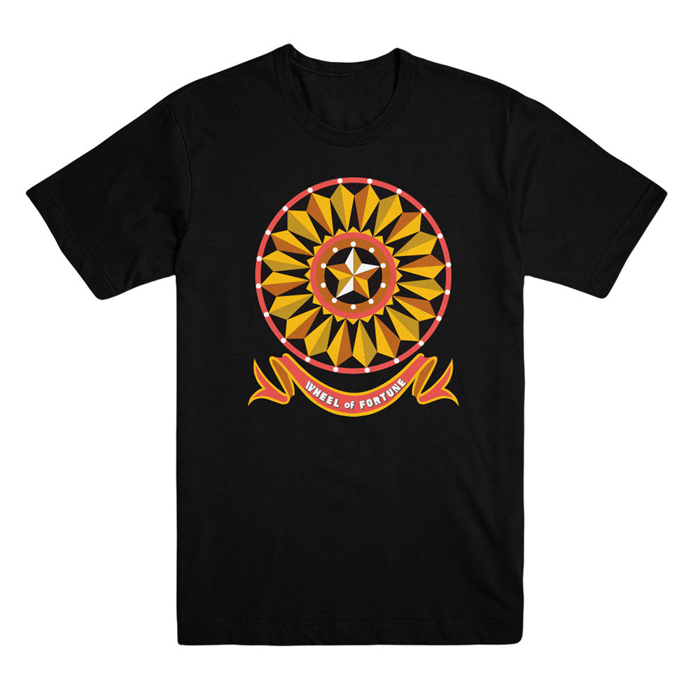Wheel of Fortune Bob Mackie Wheel Black Unisex Tee