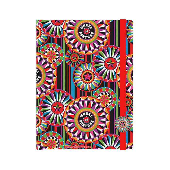 Wheel of Fortune Multi Wheel Journal Designed by Bob Mackie