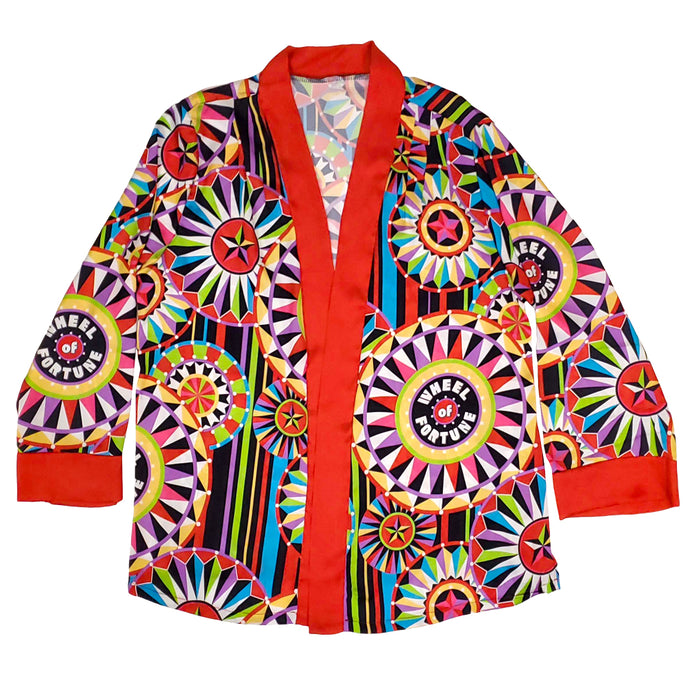 Wheel of Fortune Kimono Designed by Bob Mackie