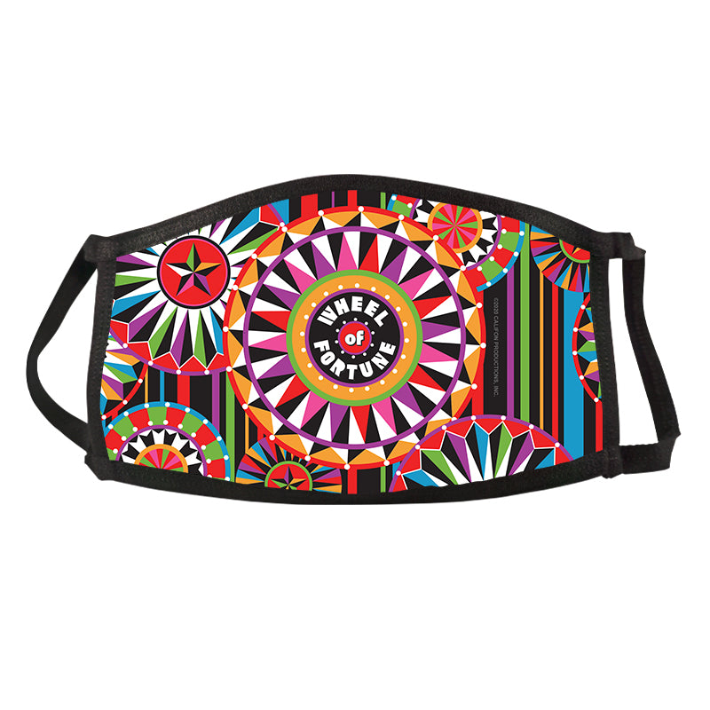 Wheel of Fortune Bob Mackie Multi Wheel Face Mask