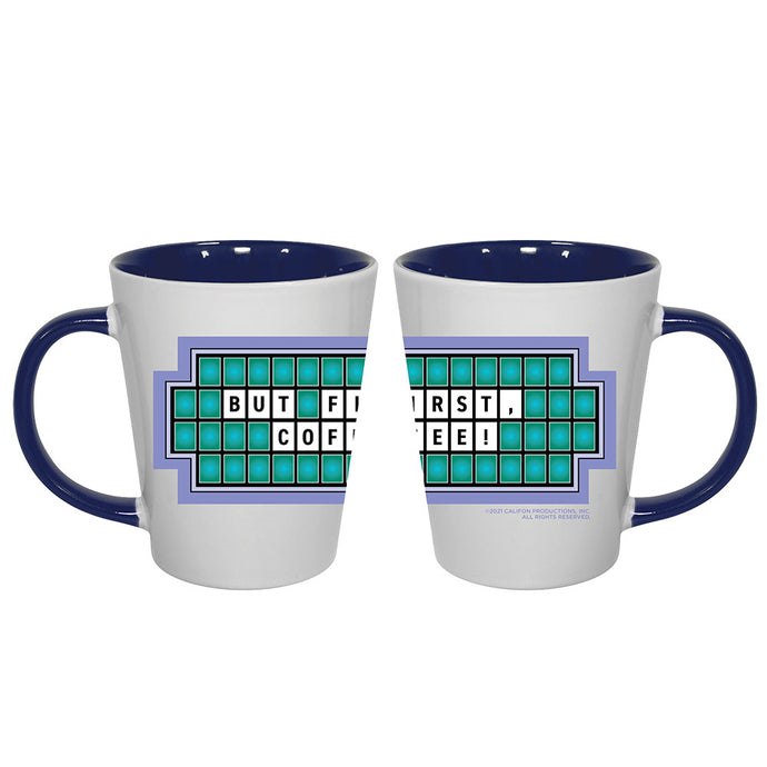 Wheel of Fortune But First Coffee Mug