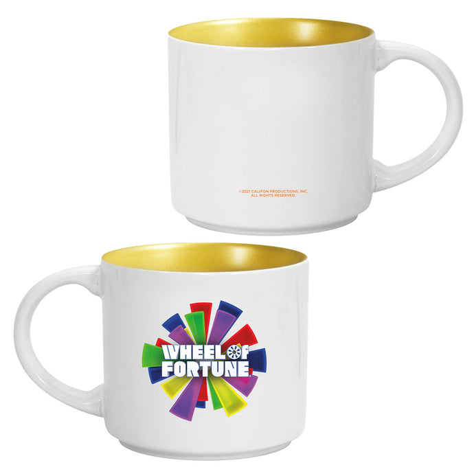 Wheel of Fortune Logo Mug
