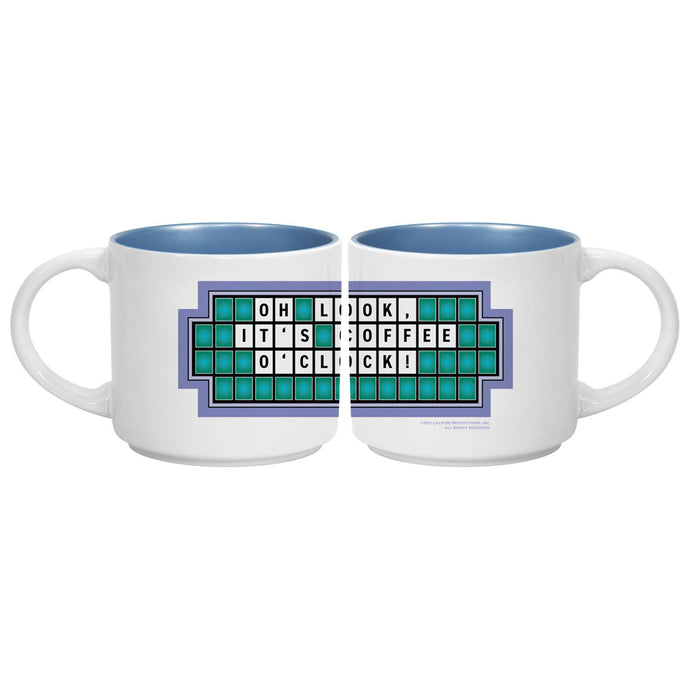 Wheel of Fortune Oh Look it's Coffee O'Clock Mug