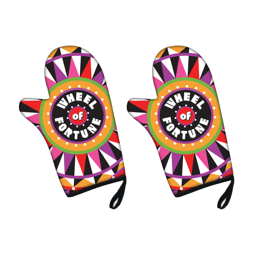 Wheel of Fortune Bob Mackie Oven Mitt Set