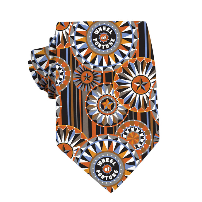Wheel of Fortune Bob Mackie Wheel-Pattern Necktie