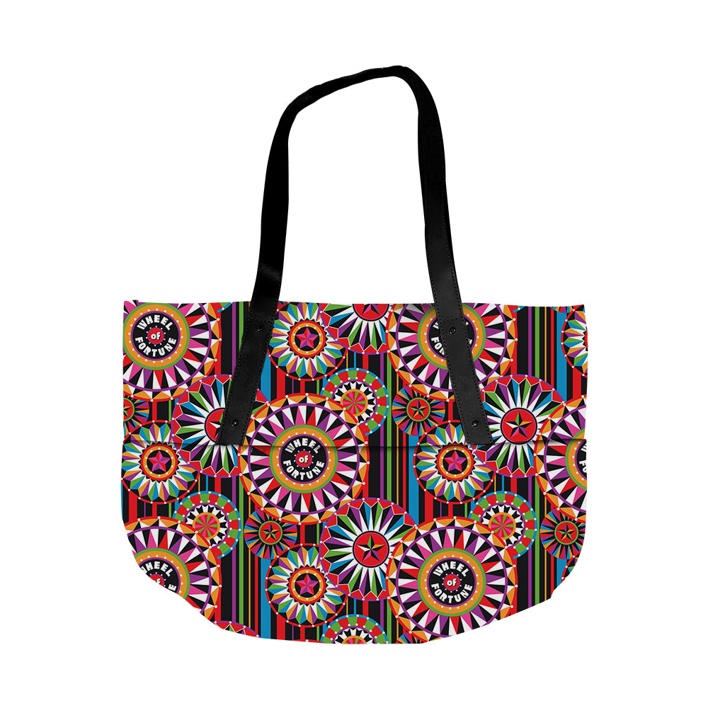 Wheel of Fortune Bob Mackie Multi Wheel Tote