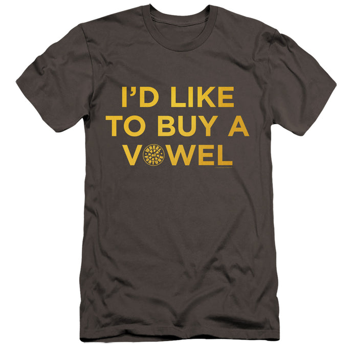 I'd Like To Buy a Vowel T-Shirt from Wheel of Fortune