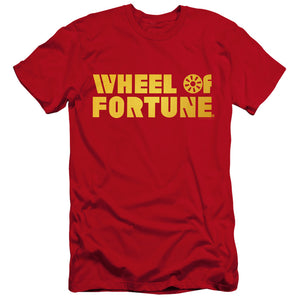 Wheel of Fortune Logo Red T-shirt