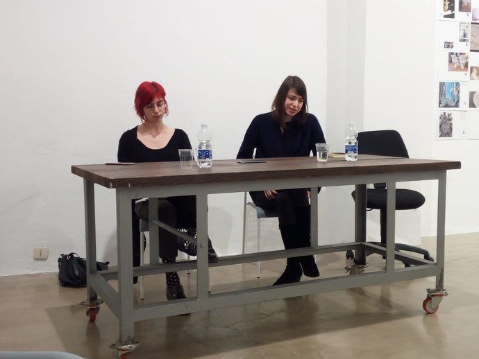 GAMMATALK AND POETRY READING: MARIA BORIO 'TRASPARENZA'