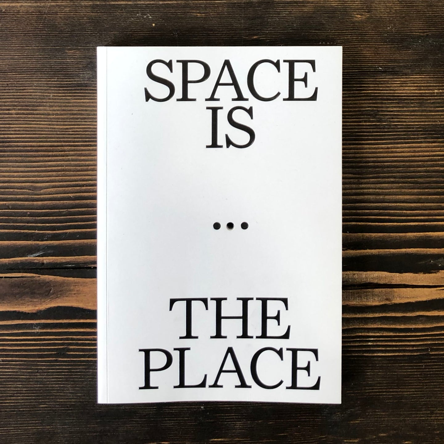SPACE IS THE PLACE. CURRENT REFLECTIONS ON ART AND ARCHITECTURE - AA. VV.