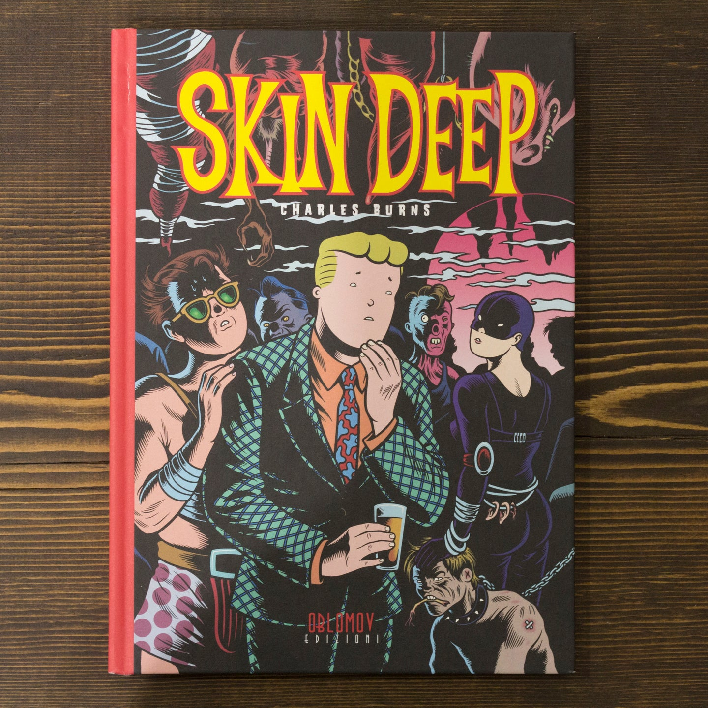 SKIN DEEP - CHARLES BURNS
