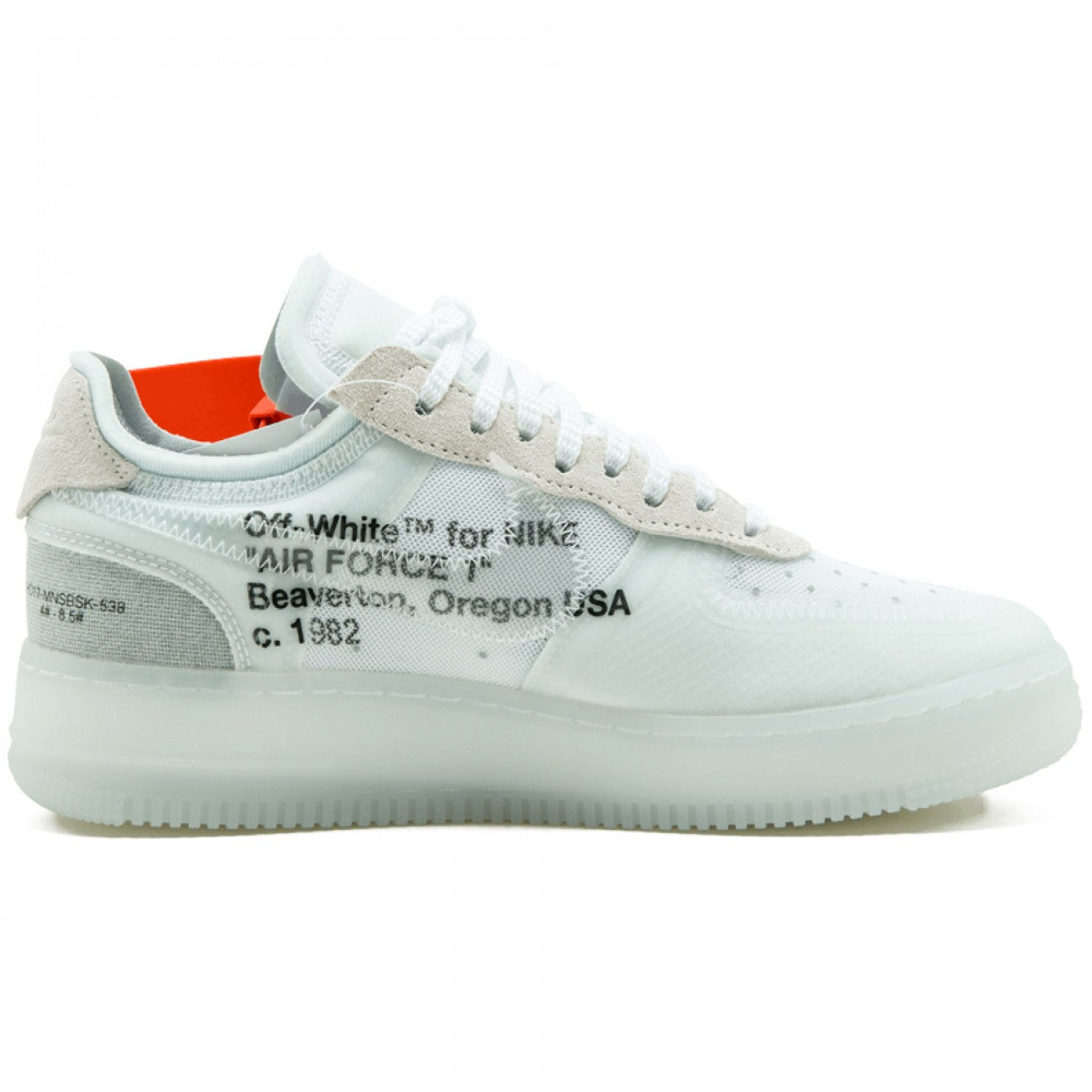 buy online a17f9 e0457 OFF-WHITE X NIKE AIR FORCE 1 LOW - WHITE