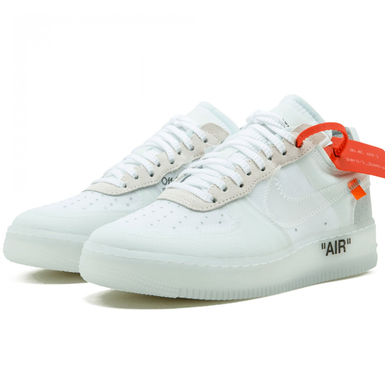 bc65265cacfd OFF-WHITE X NIKE AIR FORCE 1 LOW - WHITE – SNEAKERS LIFE