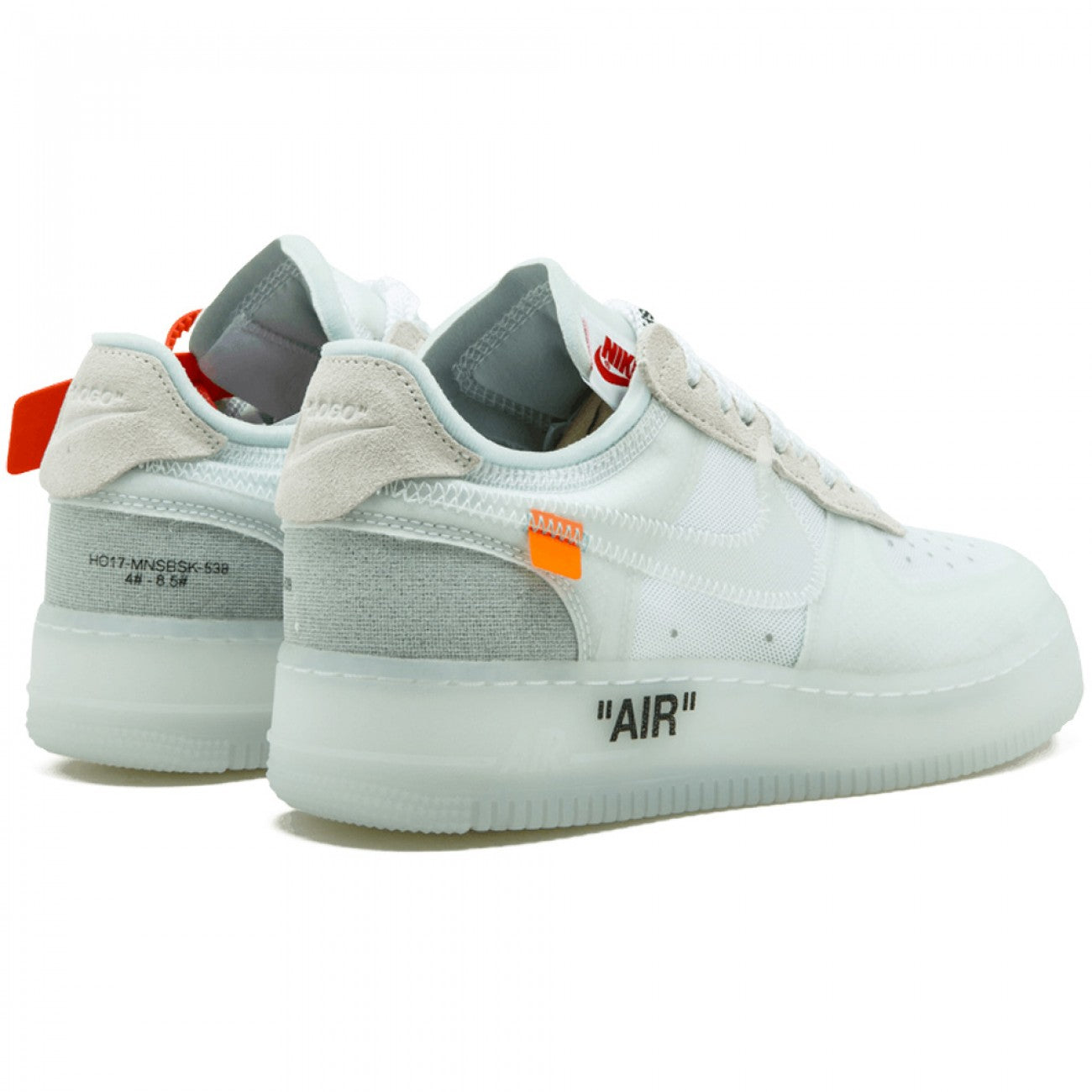 Off White X Nike Air Force 1 Low White Sneakers Life