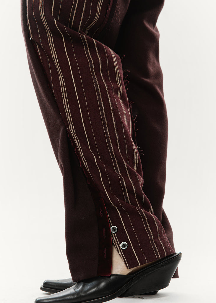 ONEOFF Women's - E Pants (Burgundy)