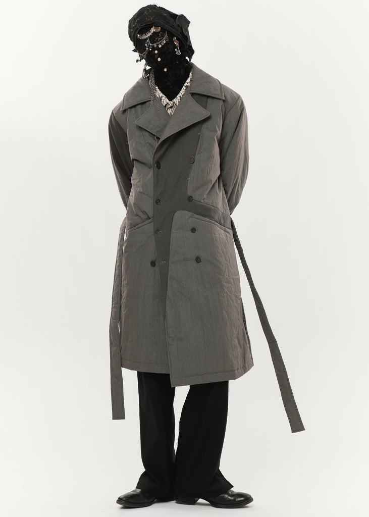 20FW - Trench Coat (Grey)