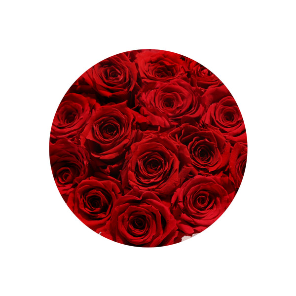 Red Impala Heart Luxury Preserved Roses