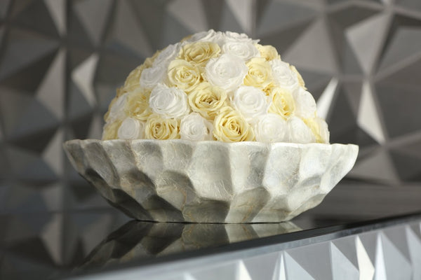 One of a Kind Bowl Luxury Preserved Roses