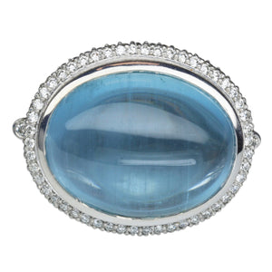 Aquamarine Ring 20.50 Carats