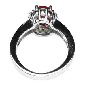 Red Spinel Ring 2.08 Carats