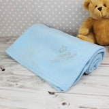 Personalised Blue Prince Baby Blanket