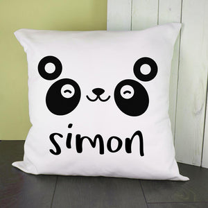 Personalised Panda Cushion Cover