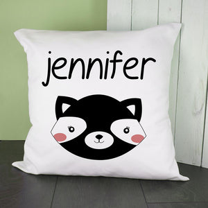 Personalised Skunk Cushion Cover