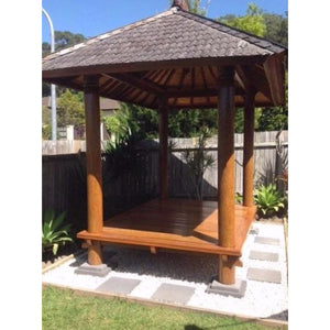 Balinese Gazebo / Hut - Unique Imports brought to you by Pablo & Kerrie Wijaya