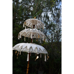 3 Tier Umbrella - Unique Imports brought to you by Pablo & Kerrie Wijaya