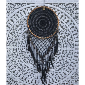 V Dream catcher Black - Unique Imports brought to you by Pablo & Kerrie Wijaya