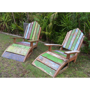 Recycled Boat chairs - Unique Imports brought to you by Pablo & Kerrie Wijaya