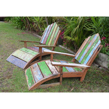 Load image into Gallery viewer, Recycled Boat chairs - Unique Imports brought to you by Pablo & Kerrie Wijaya