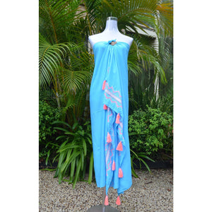 Tassel Sarong - Unique Imports brought to you by Pablo & Kerrie Wijaya