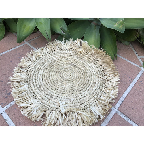 Raffia seagrass mats. - Unique Imports brought to you by Pablo & Kerrie Wijaya