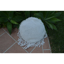 Load image into Gallery viewer, Round Macrame pillows. - Unique Imports brought to you by Pablo & Kerrie Wijaya