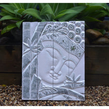 Load image into Gallery viewer, Silver Budha wall Hanging - Unique Imports brought to you by Pablo & Kerrie Wijaya