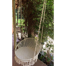 Load image into Gallery viewer, Full Macrame swing chair. - Unique Imports brought to you by Pablo & Kerrie Wijaya