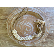 Load image into Gallery viewer, Shell garlands in cowrie or white snail shell.