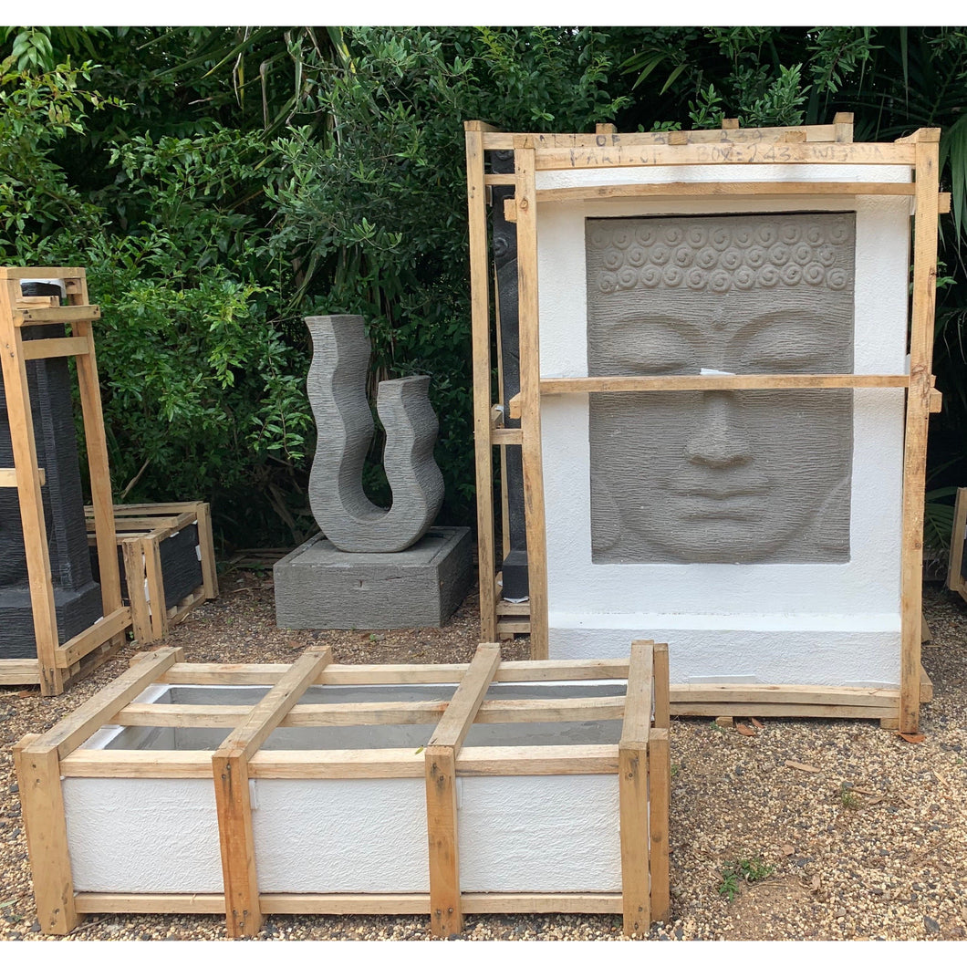 Budha water feature white. - Unique Imports brought to you by Pablo & Kerrie Wijaya