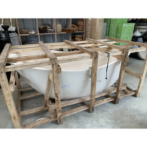 Terrazzo bath discounted. - Unique Imports brought to you by Pablo & Kerrie Wijaya