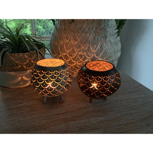 Coconut candle.