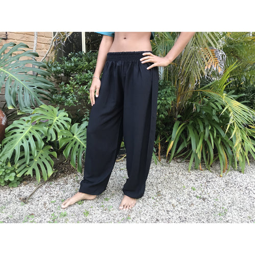 Plain Gypsy harem pants