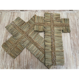 Seagrass crosses - Unique Imports brought to you by Pablo & Kerrie Wijaya