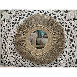 Halo Seagrass wall mirror - Unique Imports brought to you by Pablo & Kerrie Wijaya