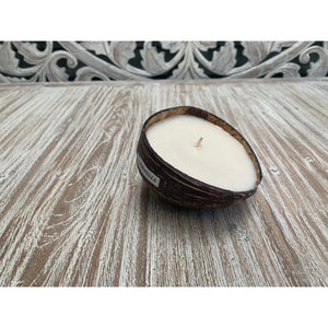 Citronella coconut candle - Unique Imports brought to you by Pablo & Kerrie Wijaya