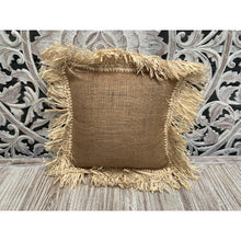 Load image into Gallery viewer, Hession & seagrass cushion cover - Unique Imports brought to you by Pablo & Kerrie Wijaya