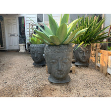 Load image into Gallery viewer, Budha head pots - Unique Imports brought to you by Pablo & Kerrie Wijaya