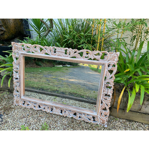 Kaya Carved Mirror . - Unique Imports brought to you by Pablo & Kerrie Wijaya