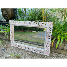 Load image into Gallery viewer, Kaya Carved Mirror . - Unique Imports brought to you by Pablo & Kerrie Wijaya